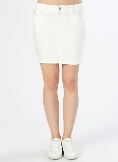 Vero Moda Etek Beyaz